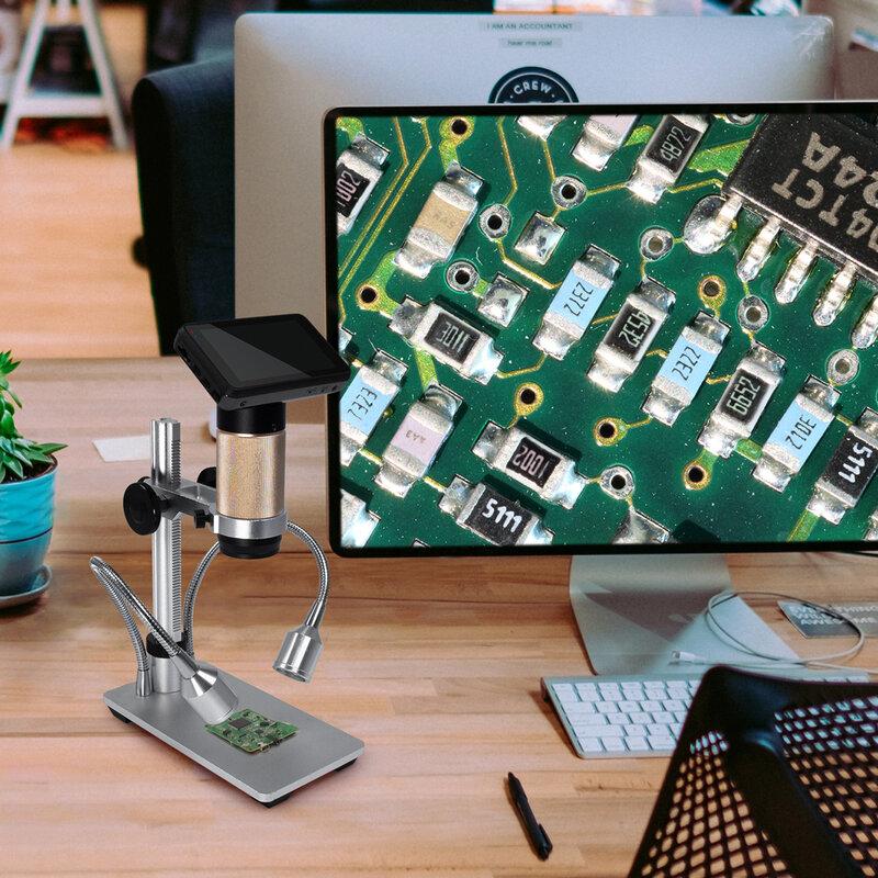 Andonstar-مجهر رقمي ADSM201 HDMI ، مسافة كبيرة ، USB ، لإصلاح الهاتف المحمول ، أداة لحام bga smt