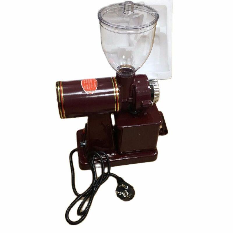 110V und 220V zu 240V kaffeemühle maschine kaffee mühle mit stecker adapter freies verschiffen zu einigen ländern
