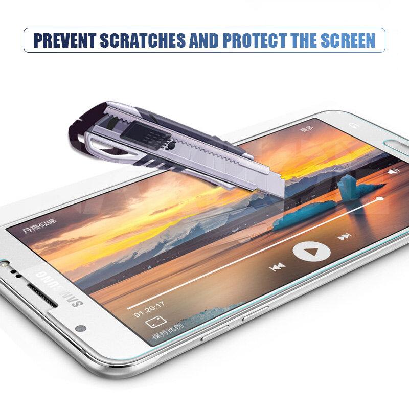 9D protectora de cristal para Samsung Galaxy S7 A3 A5 A7 J3 J5 J7 2016 2017 J2 J4 J7 Core J5 primer templado Protector de pantalla de cristal
