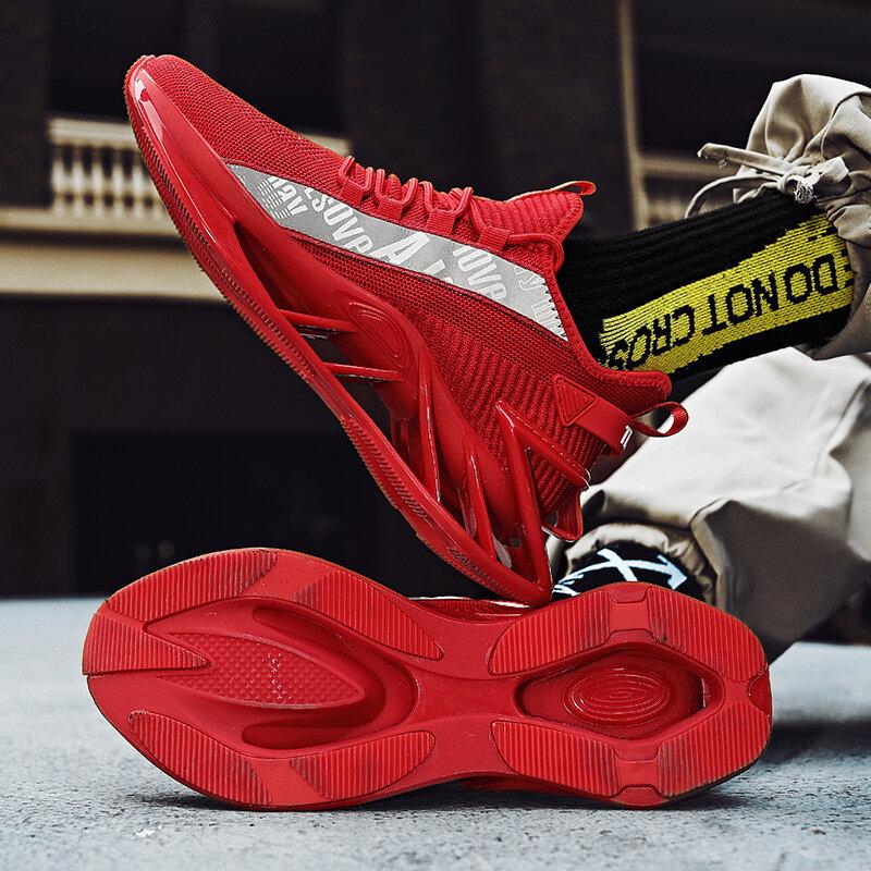 chaussure Hommes chaussures baskets hommes hommes chaussures décontractées tenis chaussures de luxe formateur course blanc cassé chaussures mode mocassins chaussures de course pour hommes