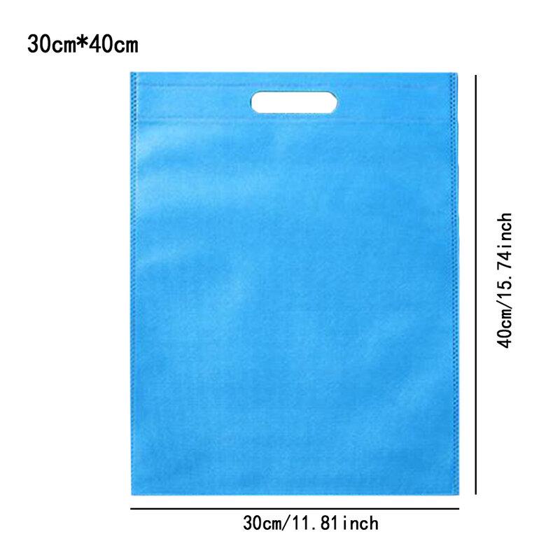 30*40/35*45cm 부직포 재사용 쇼핑 가방 접는 에코 가방 환경 휴대용 대형 접이식 쇼핑백 2019