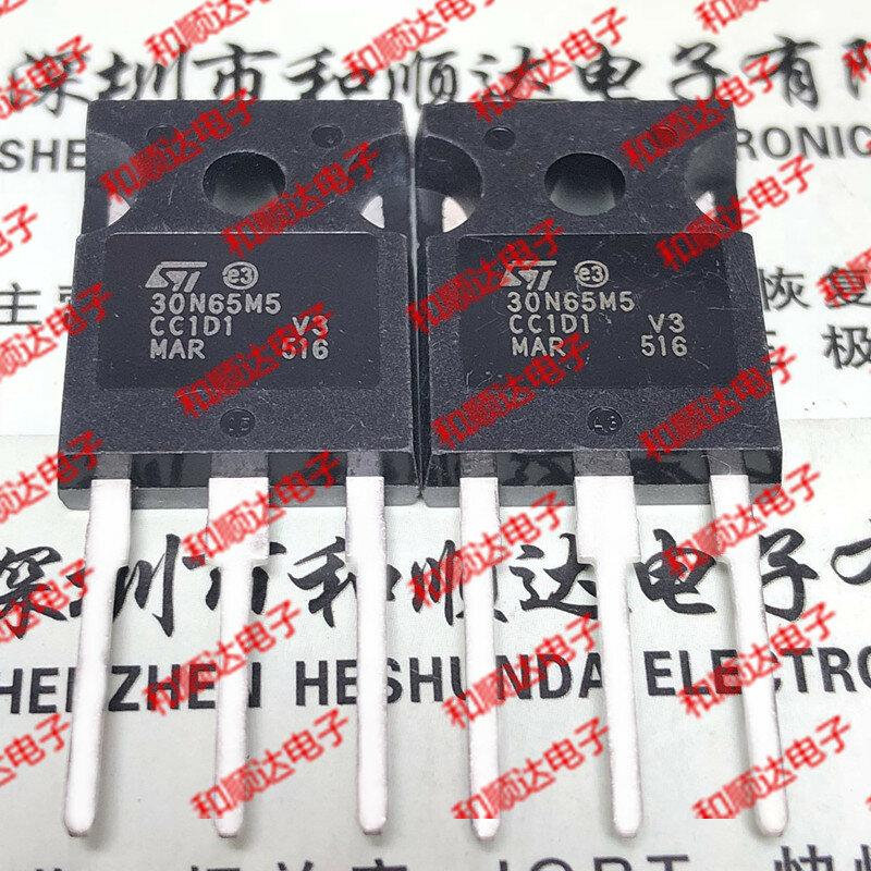 الأصلي جديد 2 قطعة/30N65M5 STW30N65M5 إلى 247 650V 22A