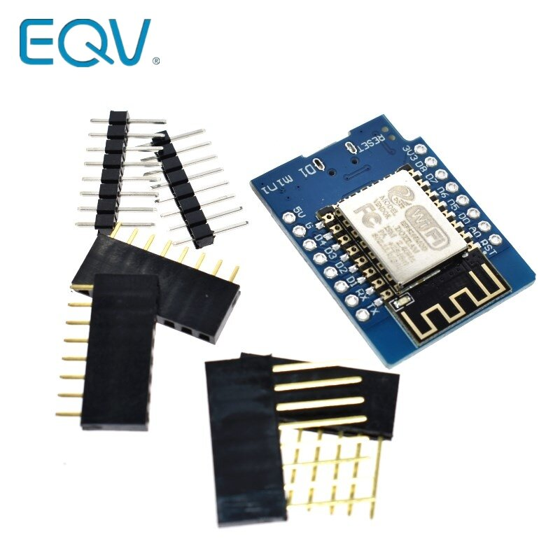 EQV D1 البسيطة ESP8266 ESP-12 ESP-12F CH340G CH340 V2 USB WeMos WIFI مجلس التنمية D1 البسيطة NodeMCU لوا قام المحفل مجلس 3.3V مع دبابيس