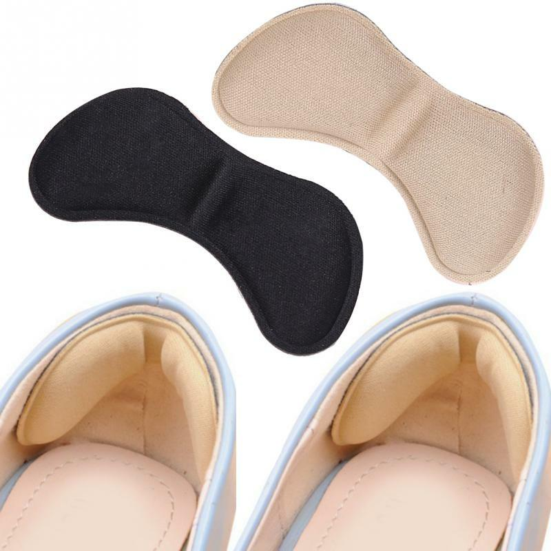 5 Pairs Heel Insoles Pain Relief Cushion Anti-wear Adhesive Feet Care Pads Heel Sticker Heel Liner Grips Crash Insole Patch