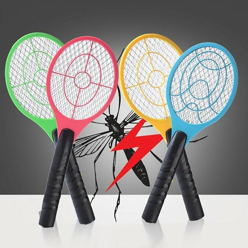 모기 살인자 전기 테니스 박쥐 핸드 헬드 라켓 곤충 비행 벌레 벌레 찰싹 때림