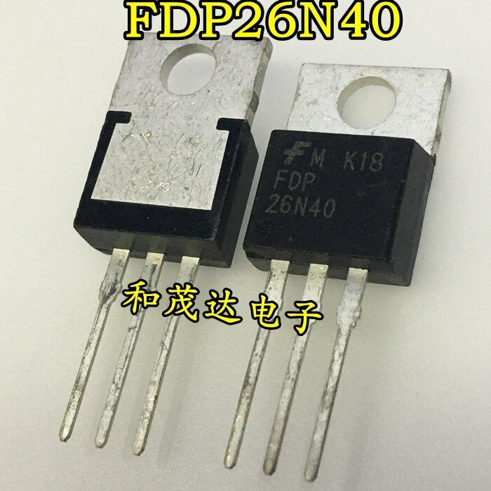 الأصلي جديد 5 قطعة/FDP26N40 26N40 إلى 220 400V 26A TO220
