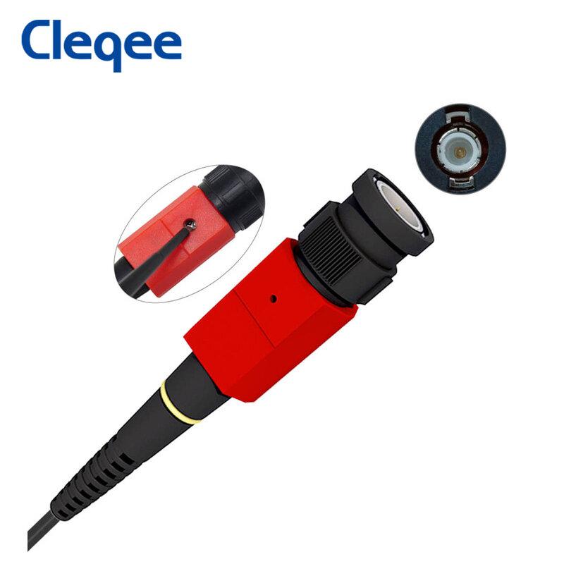 Cleqee P4100 1 UNIDS 100:1 Alto Voltaje de Withstand 2KV 100 MHz Osciloscopio Sonda para Osciloscopio owon liliput al por mayor