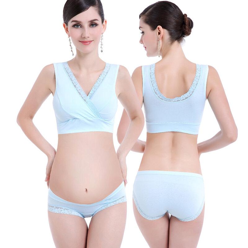 ZTOV-حمالات صدر قطنية للرضاعة الطبيعية ، ملابس داخلية للأمهات ، مقاس M/L/XL/XXL/XXXL