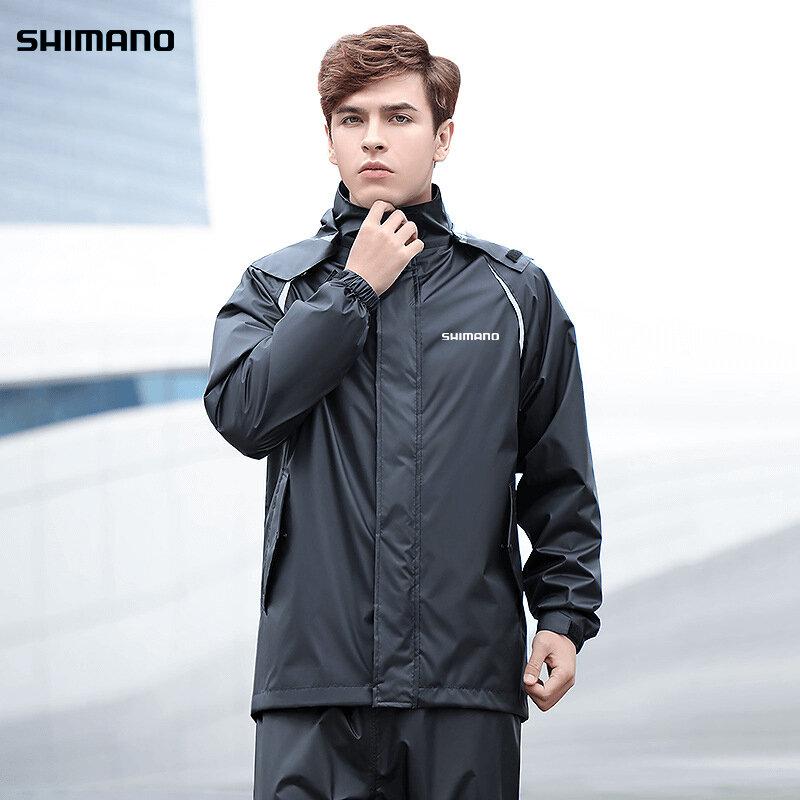 ใหม่เสื้อกันฝนสำหรับชายตกปลา Daiwa เสื้อผ้ากันน้ำผู้หญิง Shimanos กลางแจ้งเดินป่าตกปลาตั้งแคมป์ Rain ...