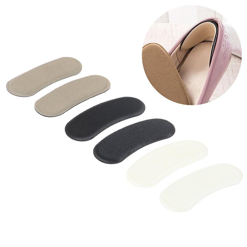 Almohadillas antideslizantes para mujer, 10 Uds. = 5 pares, plantillas invisibles para zapatos, Protector de talones