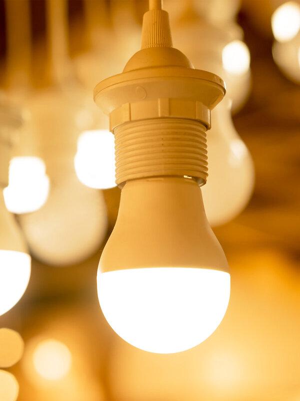 EnwYe LED Licht E27 E14 Led-lampe AC 220V 240V 20W 24W 18W 15W 12W 9W 6W 3W Lampada Led-strahler Tisch Lampe
