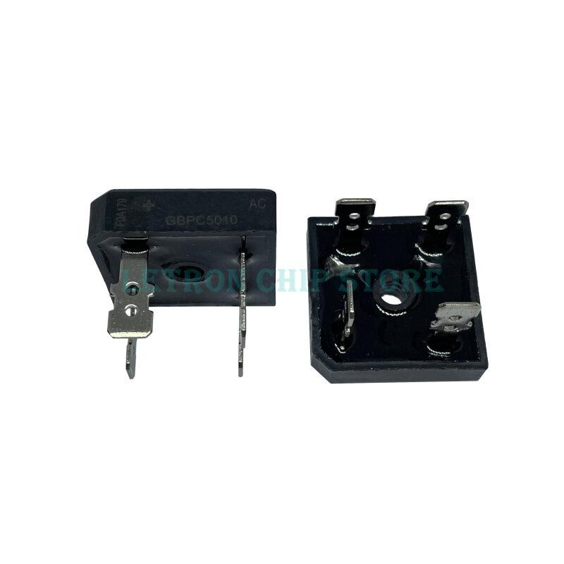2PCS GBPC3510 GBPC5010 35A 50A 1000V 다이오드 브리지 정류기