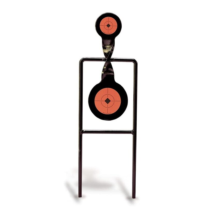 Double Mag .44 Action Spinner Paintball Shooting Tactical mobile Target 2 Steel Target