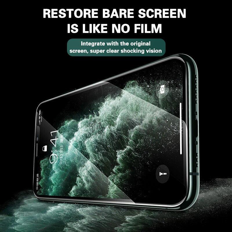 9D Full Kính Bảo Vệ Cho Iphone 11 13 12 Pro Max X Xr Xs Max SE 2020 Kính Cường Lực Trên iphone 6 7 8 6S Plus Tấm Bảo Vệ Màn Hình