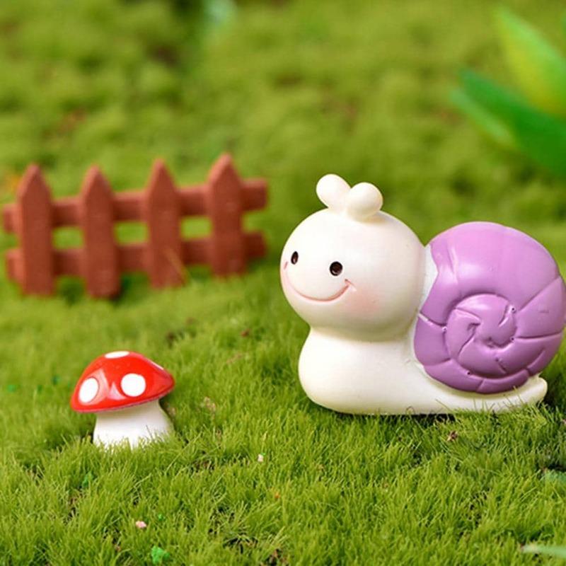3 Teile/satz Tier Ornamente Robust Leichte Einzigartige Mini Tier Figur Garten Kit Tier Dekor für Home