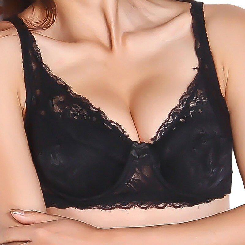 ผู้หญิงรวบรวม Push Up Bra Underwire 5/8Cup ลูกไม้ Brassiere ชุดชั้นใน32/34/36/38/40 Lady ลูกไม้ชุดชั้นในเซ็กซี่ชุดชั้นใน Undrwear