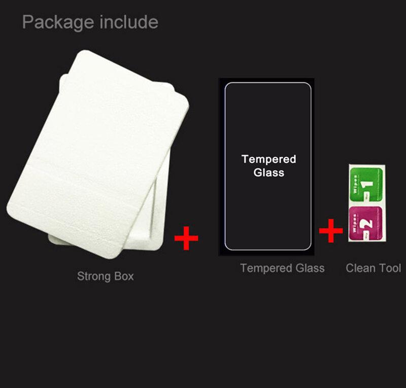 """ل Doogee S58 Pro 5.71 """"شاشة واقية كامل الزجاج المقسى الأصلي عالية الجودة على S58Pro حامي غطاء الفيلم"""
