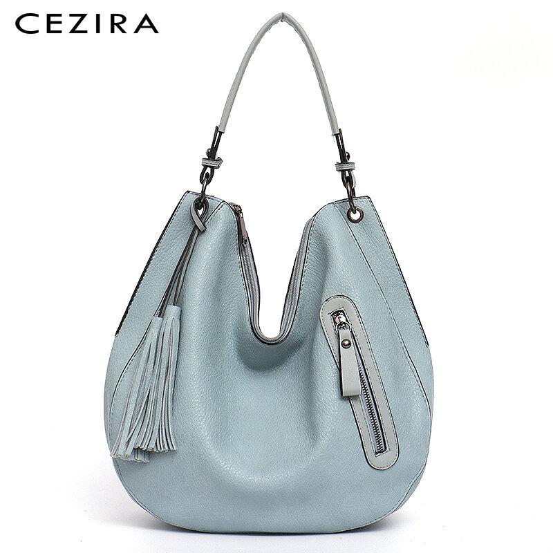 699 2021 fashion vegetarian leather lady tramp lady soft PU shoulder bag leisure tassel functional cross shaped handbag lady lar