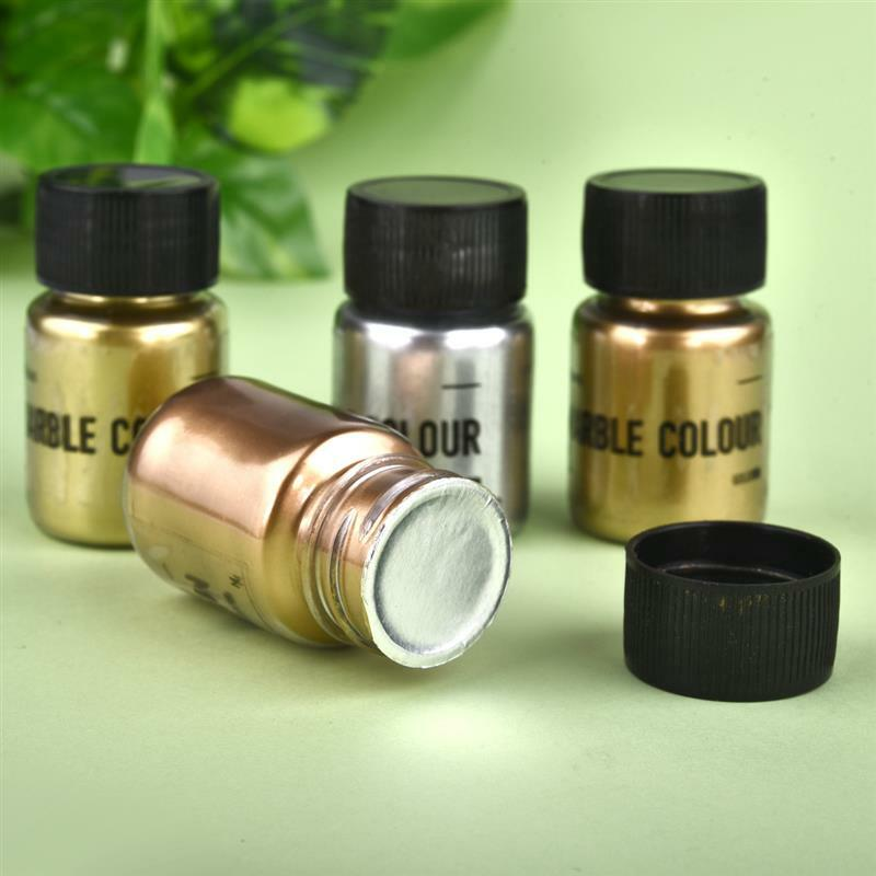 15g Shimmer Metallic Gold Silver Color Pigment Pearlescent Colorant Pearl Pigment Dye UV Resin Epoxy Colour Jewelry Making