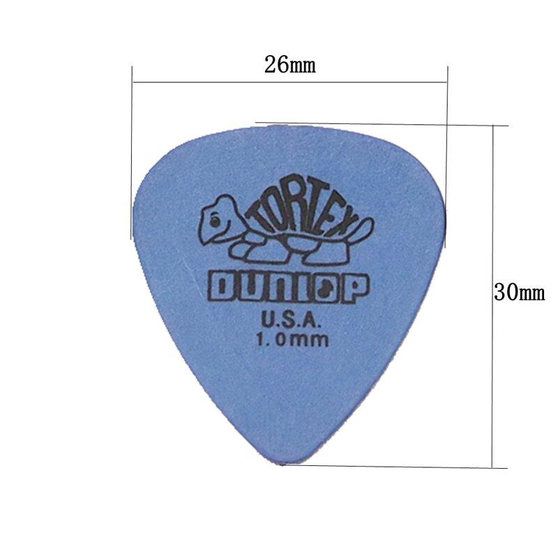 10Pcs Dunlop กีต้าร์อะไหล่กีตาร์ไฟฟ้า Picks อุปกรณ์เสริม6ชนิดความหนา Picks