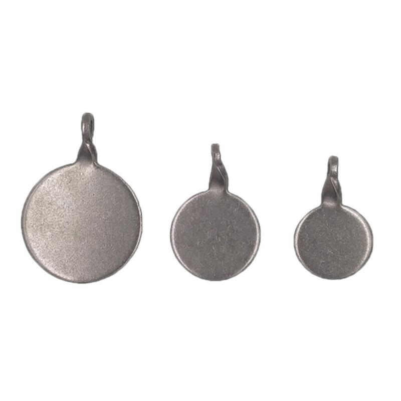 Il filatore in acciaio inossidabile 3 pezzi mira 2.5/3/4cm per la pratica di caccia di tiro