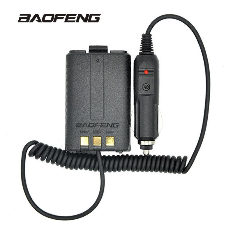 Baofeng البطارية المزيل شاحن سيارة ل المحمولة راديو UV-5R UV-5RE UV-5RA اتجاهين راديو 12-24V اسلكية تخاطب اكسسوارات
