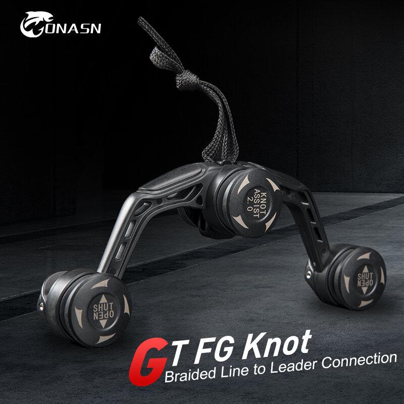 ONASN ตกปลาตกปลาเครื่องมือ GT FG PR Knotter Assist Line ผู้นำการเชื่อมต่อ Knotting เครื่อง Bobbin Winder สายสายญี่ปุ่น Knot เครื่อ...