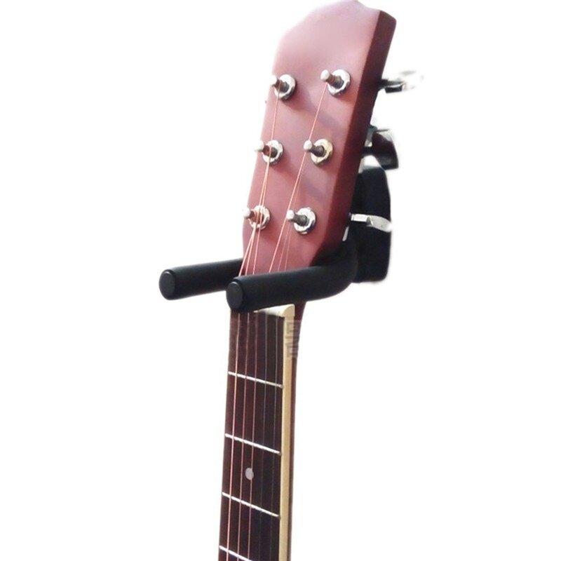1Pcs กีตาร์ผู้ถือ Wall Mount ขาตั้ง Soporte Guitarra อะไหล่และอุปกรณ์เสริม