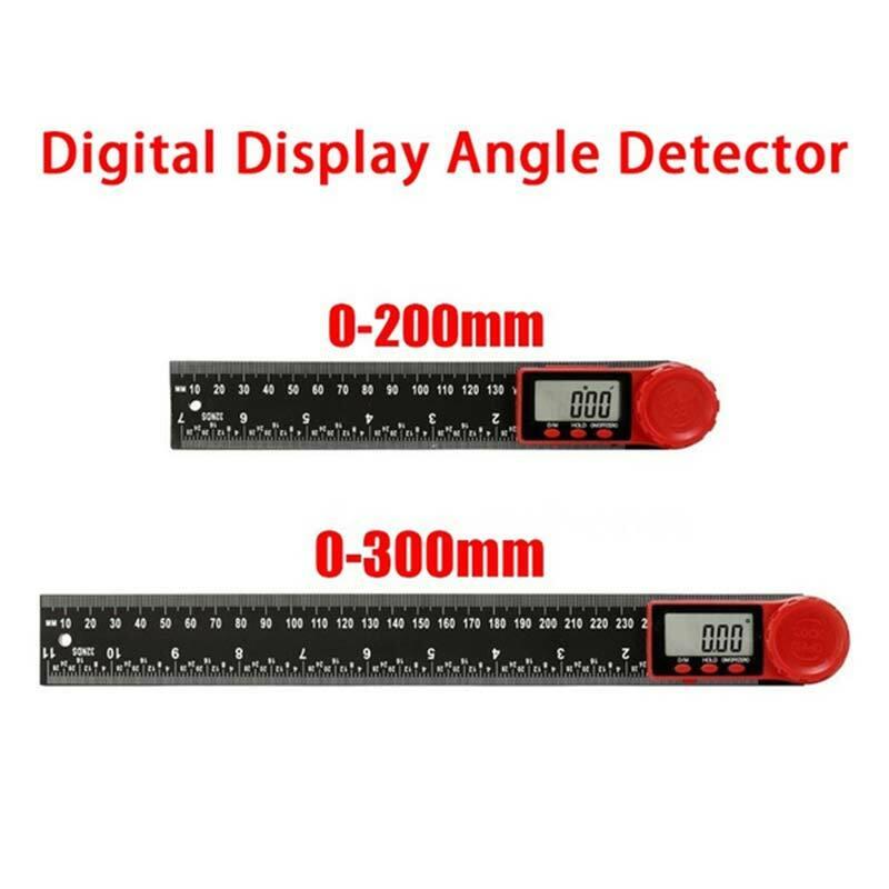 Digital instrument winkel zubehör neigungsmesser winkel digitale skala elektronische goniometer winkelmesser winkel detektor