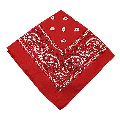 Bandana kerchief Unisex Hip Hop Black Hair Band Neck Scarf Sports Headwear Wrist Wraps Head Square Scarves Print Handkerchief
