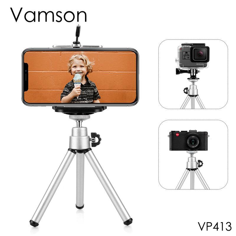 Vamson ل الذهاب برو اكسسوارات البسيطة قابلة Monopod ترايبود ل GoPro بطل 8 7 6 5 4 3 + ل Sj4000 ل Xiaomi ل يي كاميرا VP413