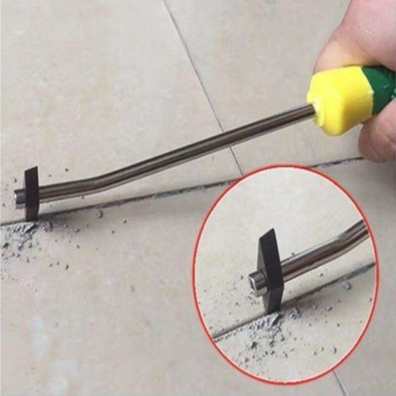 Removedor de lechada de azulejos de cerámica profesional, limpiador de agujeros de acero de tungsteno, broca para suelo, costura de pared, herramientas manuales de limpieza de cemento