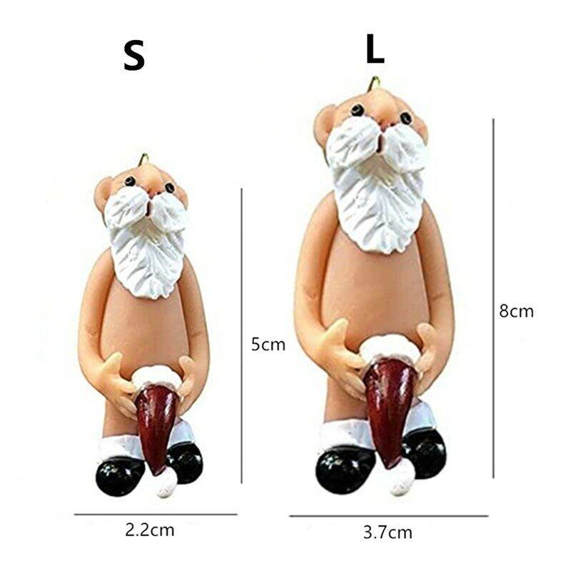 Kreative Harz Weihnachten Dekoration Weihnachten Baum Hängen Anhänger Weihnachten Dekoration Für Home Party Dekoration Zubehör