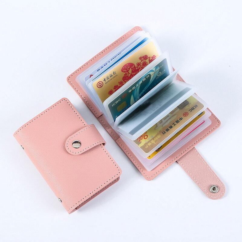 패션 남여 명함 홀더 여성 신용 카드 케이스 ID 가방 남성용 클러치 정리 지갑, 운전 면허증 슬롯 포함