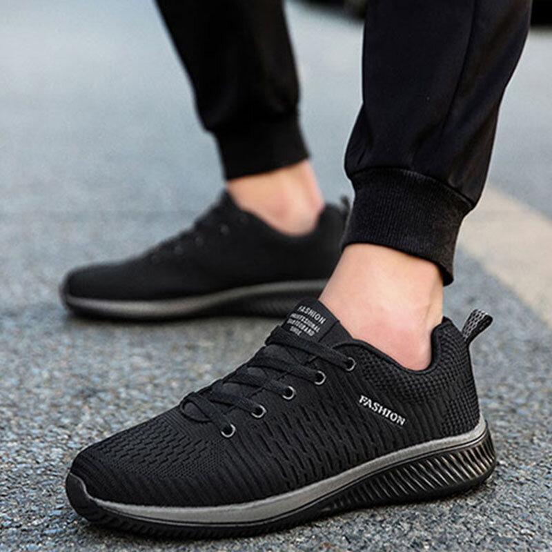 2021 respirant Chaussures Pour Hommes Bottes Au Mans Décontracté Hommes bottes De Travail Maille Mode Homme Chaussures Plate-Forme de Travail Homme Baskets