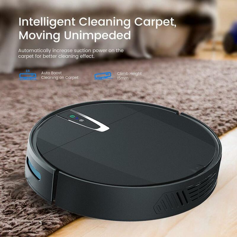 Aspirapolvere Robot 3200PA telecomando intelligente ricarica automatica senza fili pulizia del pavimento spazzante aspirapolvere progettato per la casa