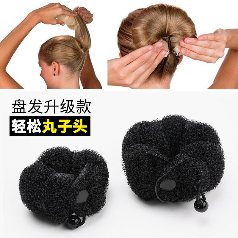 Korean New Lounger Hair Device Bun Donut Bud-like Hair Style Hair Curler Korean Hair Accessories Sweet Hair Ring