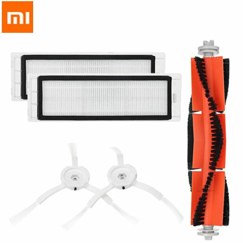 Spazzola principale filtro HEPA kit spazzole laterali per Xiaomi MI 1S Robot aspirapolvere parti accessori per Roborock S50 S5 S6