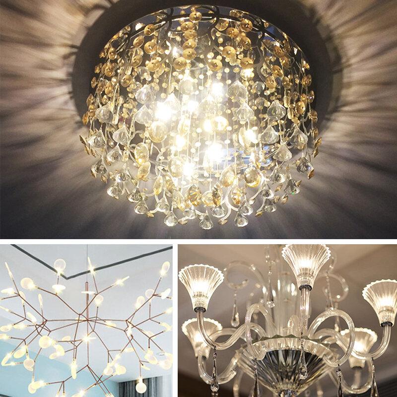 مصباح LED جديد G4 G9 E14 AC/DC 12 فولت 220 فولت 3 واط 6 واط COB LED G4 G9 لمبة لأضواء الثريا الكريستال