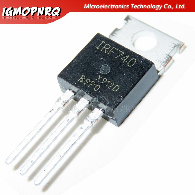 10 قطعة IRF740 IRF510 IRF520 IRF540 IRF640 IRF840 LM317T الترانزستور IRF510N IRF540N IRF520N IRF530N LM317 IRF640N MOSFET إلى-220