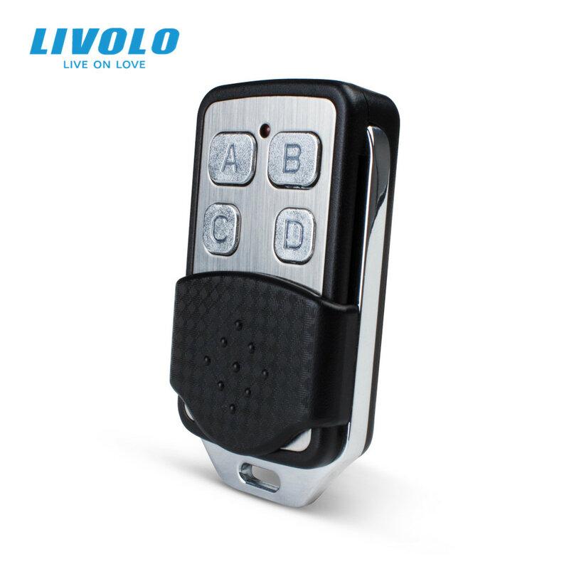 Livolo الجدار مفتاح الإضاءة الملحقات ، RF تحكم عن بعد صغير ، الجدار ضوء مفتاح بالتحكم عن بعد تحكم VL-RMT-02