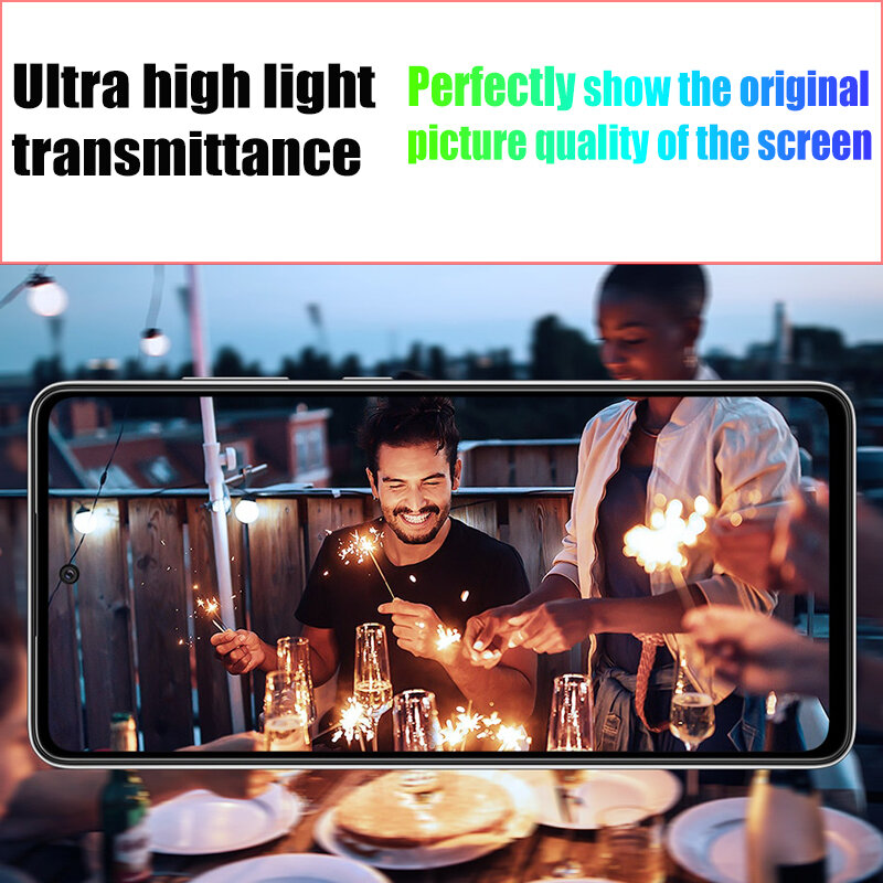 1000D Full Coverage Tempered Glass For Samsung A52 A72 A21S A41 A50 A10 A20 A70 Screen Protector For Samsung A51 A71 M51 M31 M21