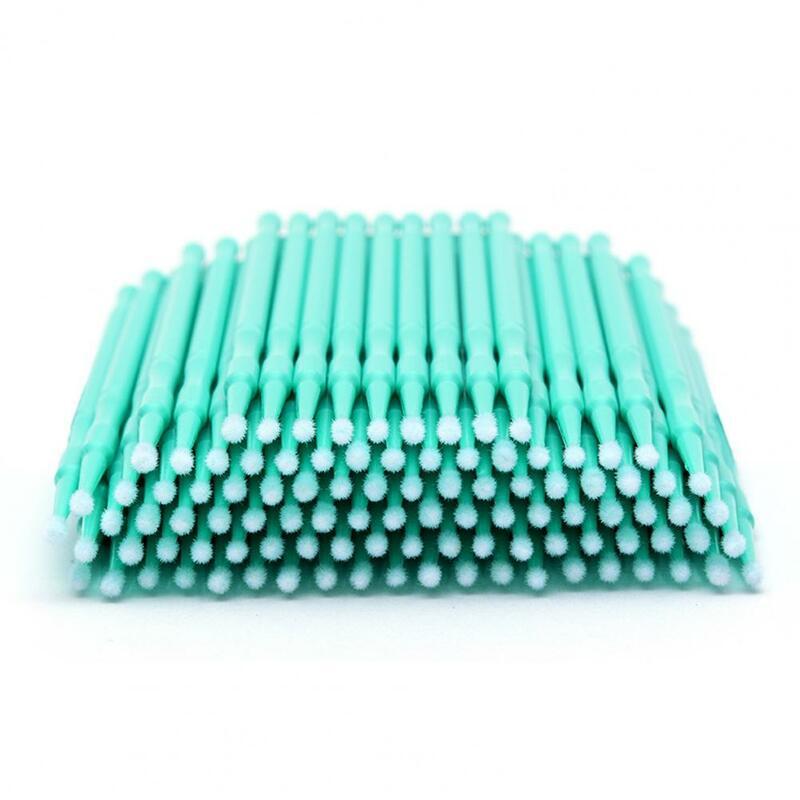 100Pcs Einweg Micro Wimpern Verlängerung Applikator Mascara Pinsel Stick Tupfer