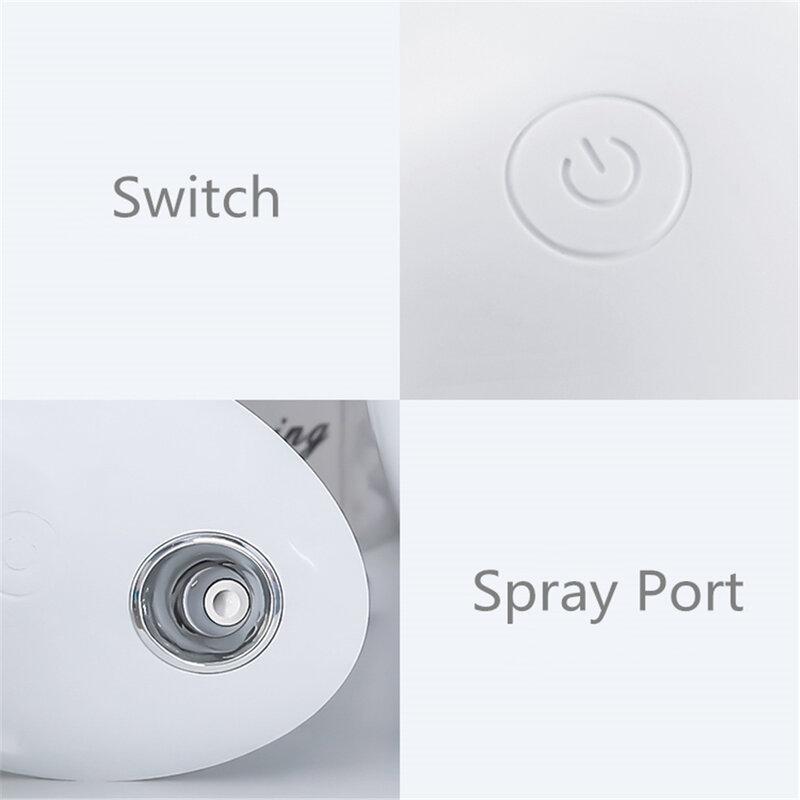 Umidificatore USB 800ml umidificatore ad ultrasuoni portatile per casa e ufficio diffusore di aromaterapia a nebbia leggera a 7 colori
