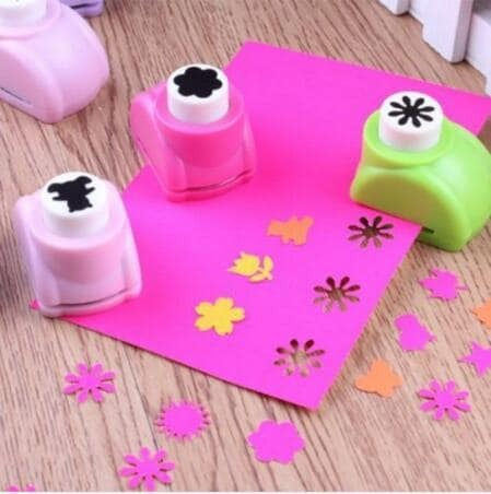 Mini Scrapbook Punches Handmade Cutter Card Craft Calico การพิมพ์ดอกไม้กระดาษหัตถกรรม Punch Hole Puncher รูปร่าง DIY เครื่องมือ