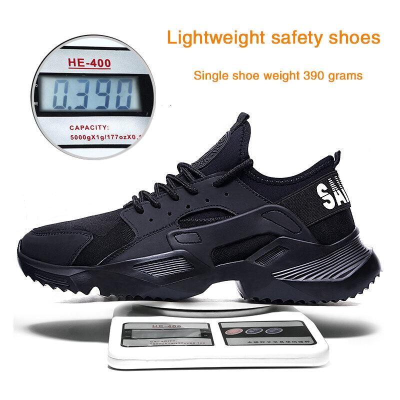 EVA – chaussures de sécurité légères pour hommes et femmes, avec embouts en acier, bottes de travail en extérieur anti-perforation, résistantes à l'usure, excellente adhérence, nouvelle collection