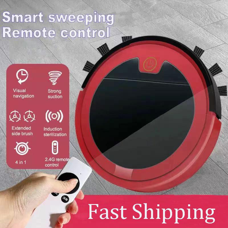 Aspirapolvere Robot 2800Pa telecomando intelligente macchina per la pulizia senza fili pavimento asciutto bagnato per aspirapolvere Robot domestico