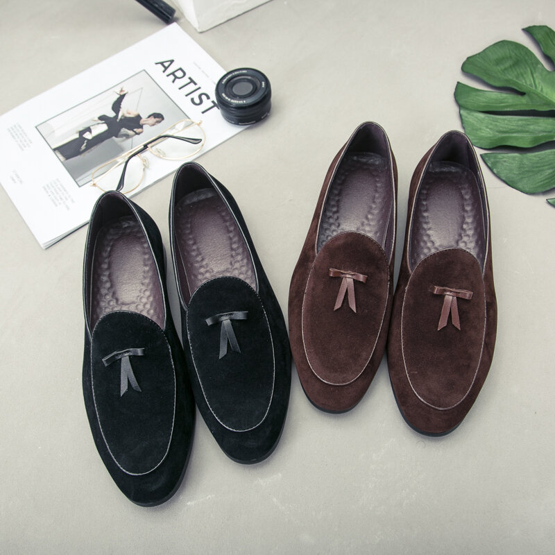 MAEDEF Classic Men's Casual Shoes Loafers 2021 New Man Fashion Trend Wild Loafers Outdoor Comfortable Walking Male Shoes