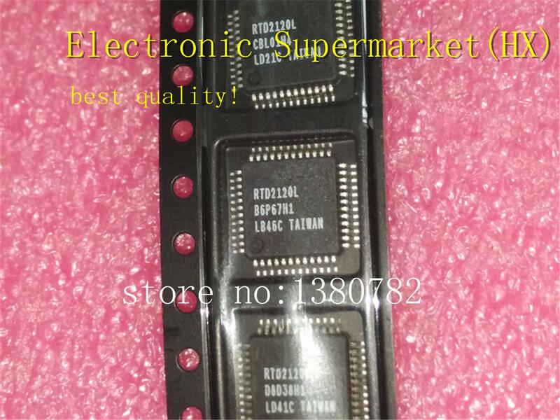 شحن مجاني 10 قطعة/السلع RTD2120L-LF RTD2120L RTD2120 QFP48 100% جديد الأصلي IC