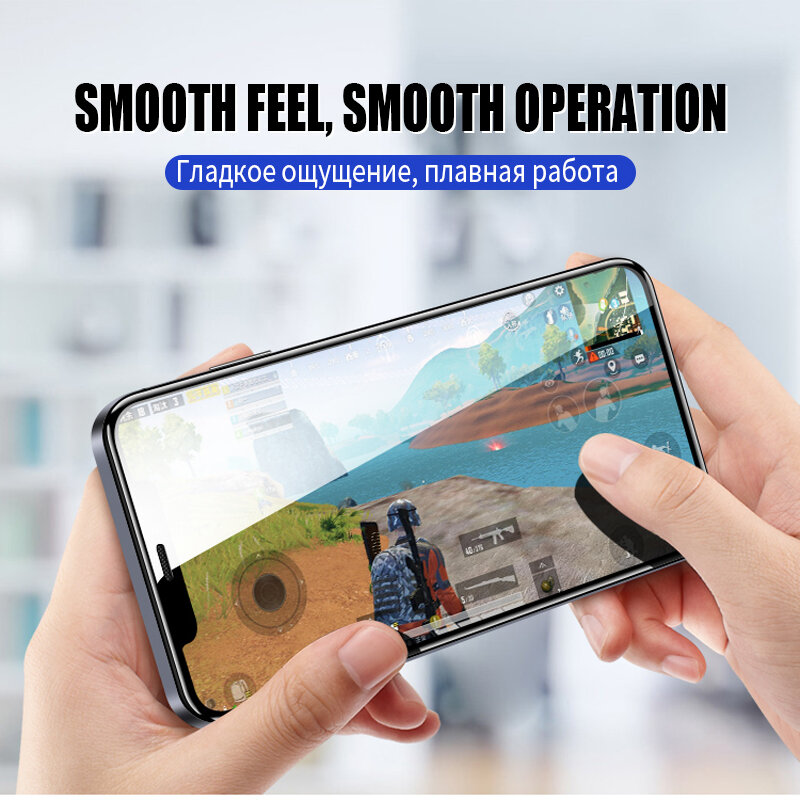 9D كامل حماية الزجاج ل أبل فون 12 البسيطة 11 برو ماكس X XS XR شاشة حامي فيلم ل فون 7 8 6 6S زائد 5S SE الزجاج